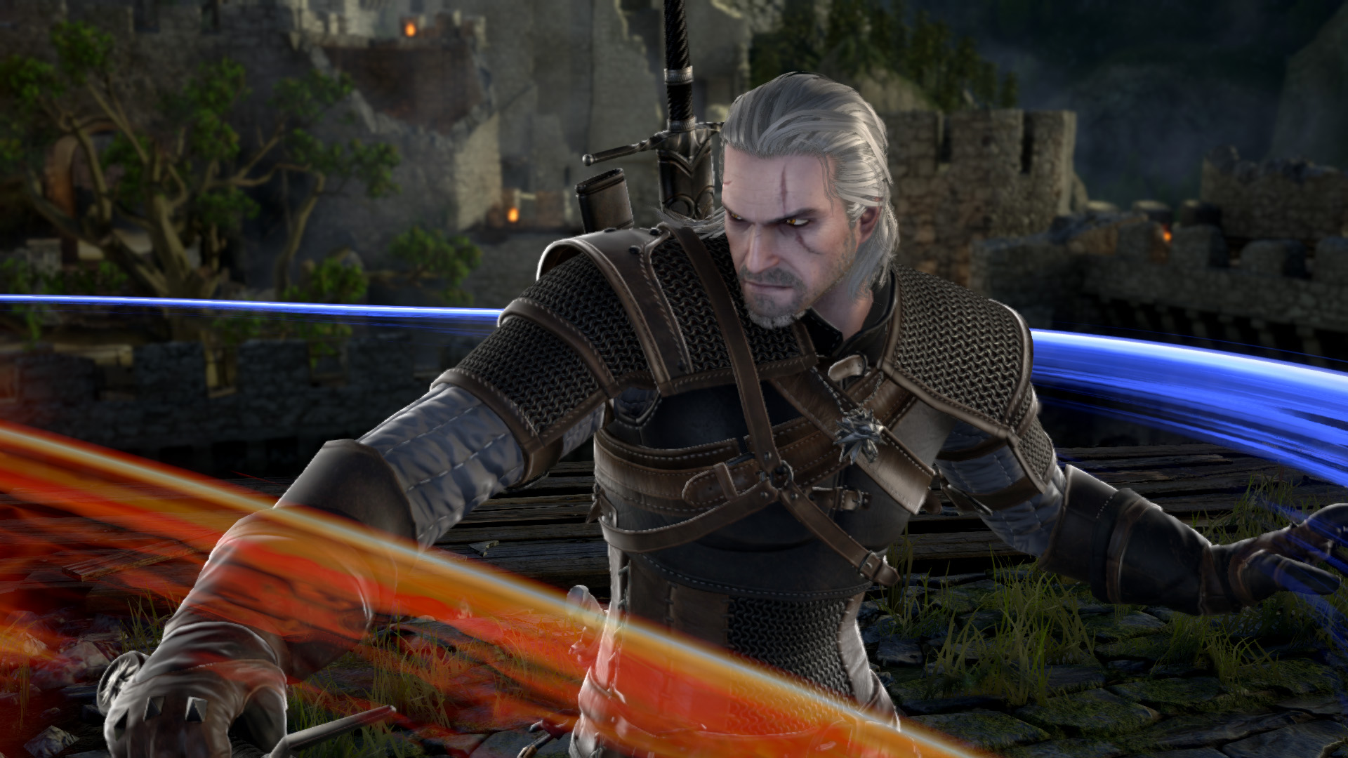 All Games Delta: Soulcalibur VI Adds Geralt of Rivia from