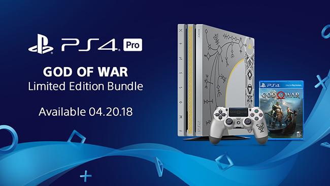 playstation 4 pro - 1tb - limited edition god of war bundle canada